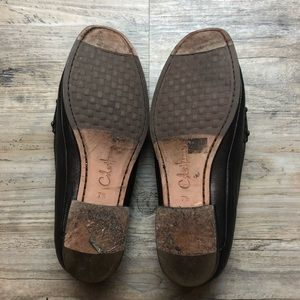 Cole Haan Shoes - Cole haan bronze leather slip on loafers shoes